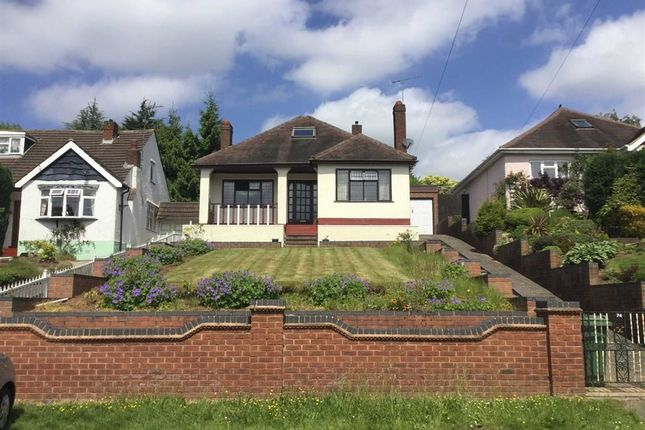 Thumbnail Detached bungalow for sale in Bridgnorth Road, Wightwick, Wolverhampton
