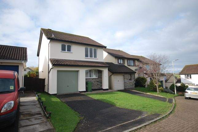 Thumbnail Detached house to rent in Valley View, Bideford