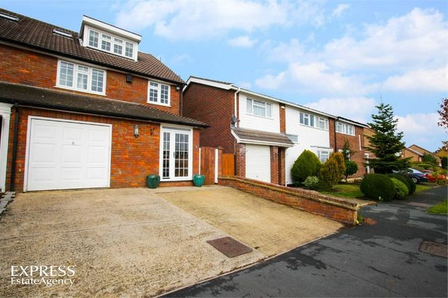 Thumbnail Semi-detached house for sale in Wadham Road, Abbots Langley, Hertfordshire