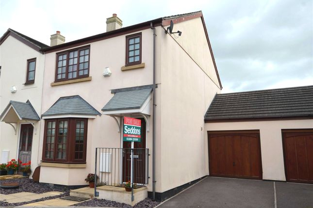 Thumbnail Semi-detached house to rent in Smithys Way, Sampford Peverell, Tiverton, Devon