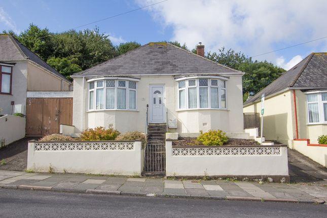 Thumbnail Detached bungalow for sale in Poole Park Road, St Budeaux, Plymouth