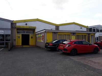Light industrial to let in Grace Road West, Marsh Barton Trading Estate, Exeter