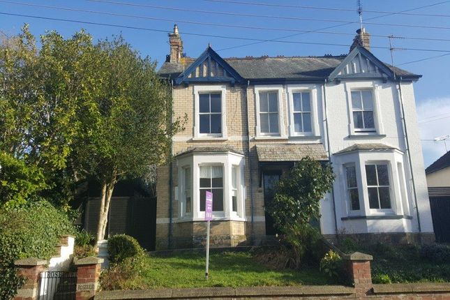 Thumbnail Semi-detached house to rent in Kenwyn Road, Truro