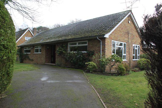 Thumbnail Bungalow to rent in Crescent Lane, Ash Vale, Aldershot