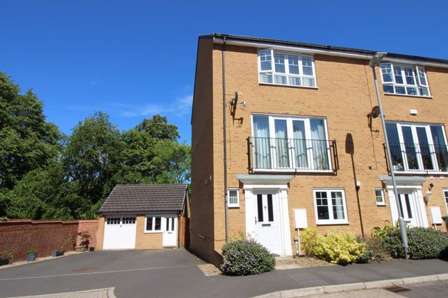 Thumbnail End terrace house for sale in Hackwood Glade, Hexham
