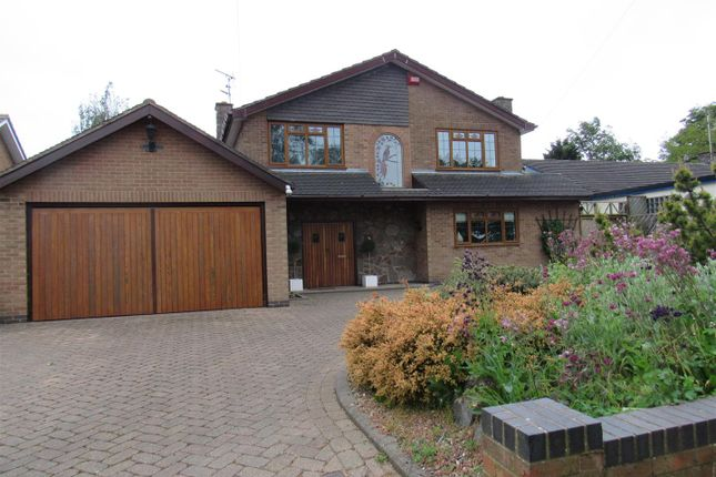 Thumbnail Detached house for sale in Rectory Road, Wanlip, Leicester