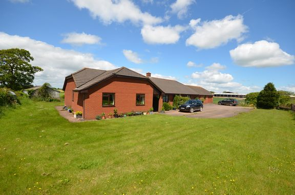 Thumbnail Detached bungalow for sale in Springhay Cottage, Pennymoor, Tiverton, Devon