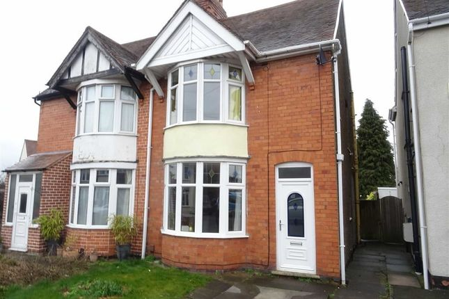 Thumbnail Semi-detached house to rent in Beaumont Avenue, Hinckley