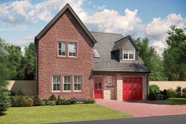 "Thumbnail Detached house for sale in ""Warwick"" at Crindledyke Estate, Kingstown, Carlisle"