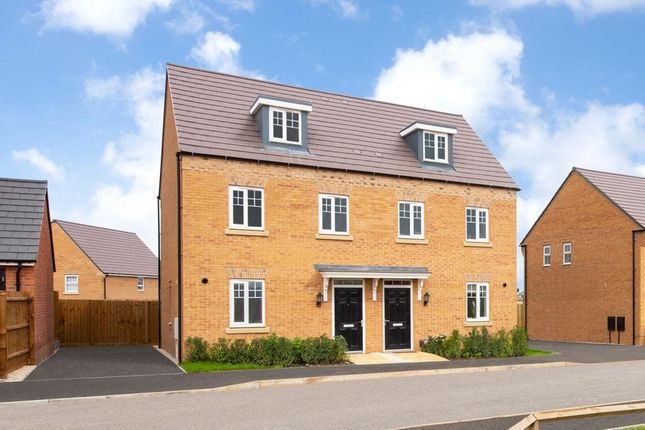 "Thumbnail Semi-detached house for sale in ""Nugent"" at Main Road, Earls Barton, Northampton"
