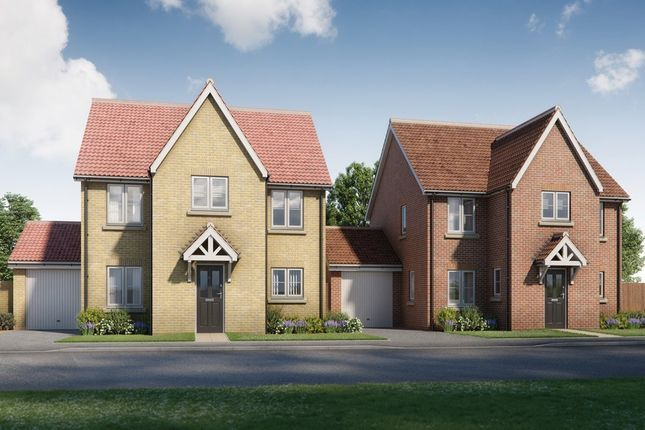 Thumbnail Detached house for sale in Montagu Place, Woodnesborough Road, Sandwich, Kent
