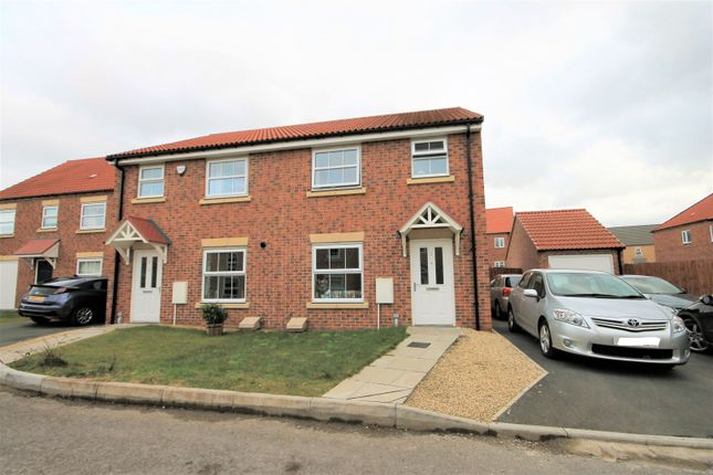 Thumbnail Semi-detached house for sale in Linnet Way, Houghton Le Spring