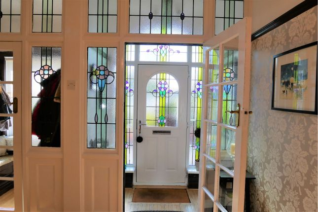 Entrance Porch of King George Road, South Shields NE34