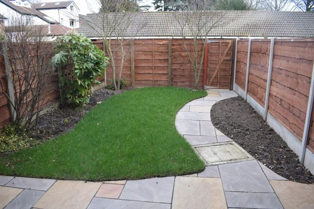 Garden of Whitworth Lane, Fallowfield, Manchester M14
