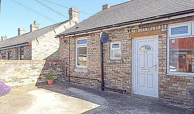 Bungalow for sale in Lea Side, Consett, Durham