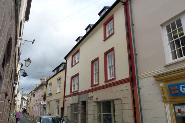 Thumbnail Flat to rent in Lion Street, Brecon
