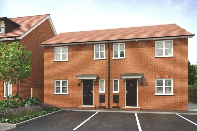 Thumbnail Semi-detached house for sale in Plot 97 Ribble Phase 3, Navigation Point, Cinder Lane, Castleford