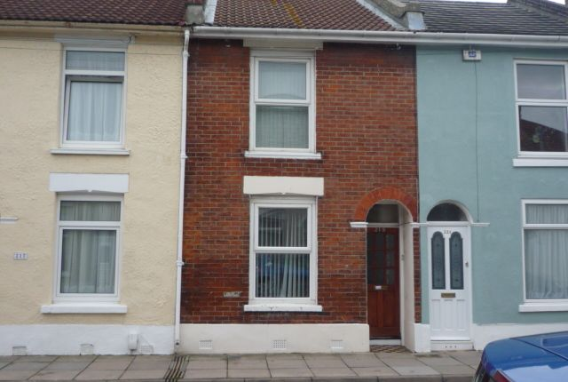 Thumbnail Terraced house to rent in Newcome Road, Portsmouth