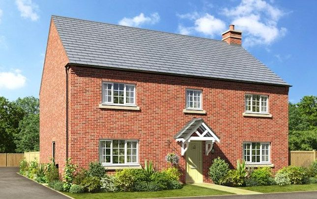 Thumbnail Detached house for sale in The Pickmere, Trinity Gardens, Ling Road, Loughborough