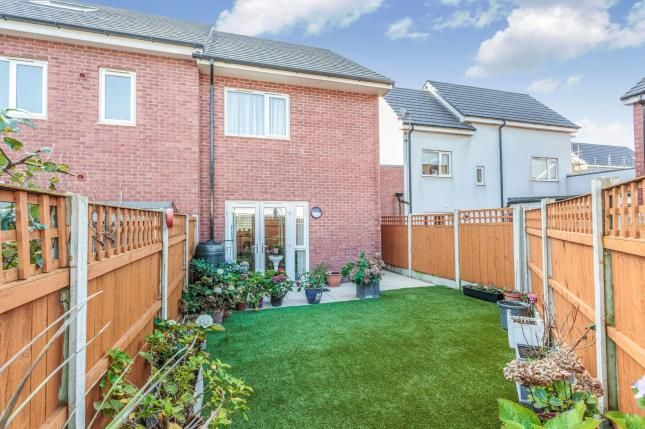 Garden of Perry Place, Blackpool, Lancashire FY1