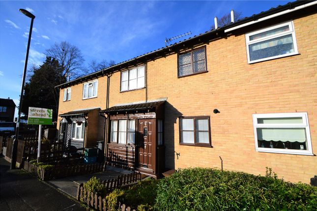 Thumbnail Terraced house for sale in Fernleigh Close, Waddon, Croydon