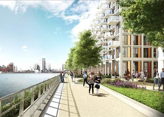 Flat for sale in John Cabot House, Royal Wharf, London