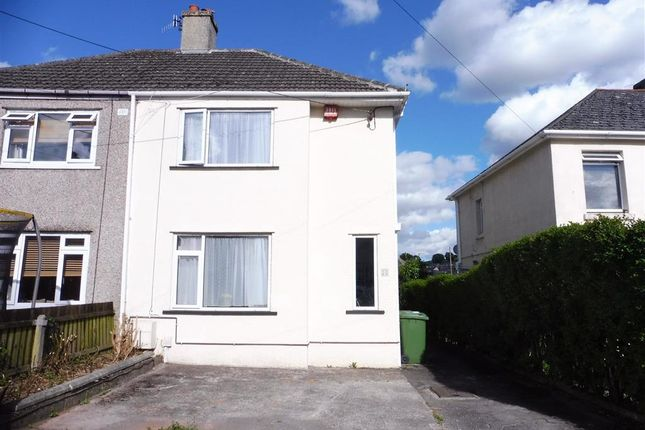 Thumbnail Property to rent in Park Avenue, Plymstock, Plymouth