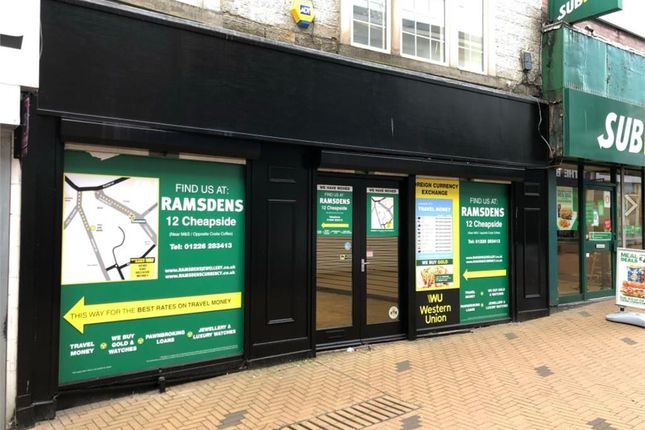 Thumbnail Retail premises to let in 8-10 Market Street, Barnsley, South Yorkshire