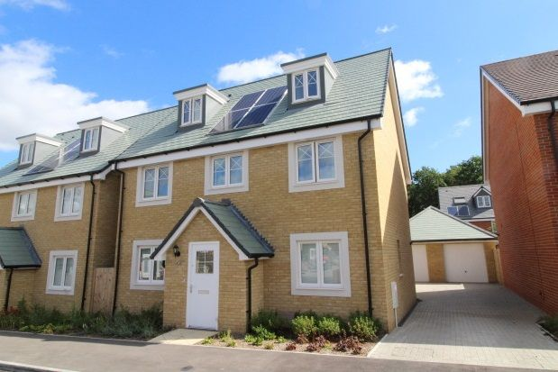 Thumbnail Detached house to rent in Dragons Way, Church Crookham, Fleet