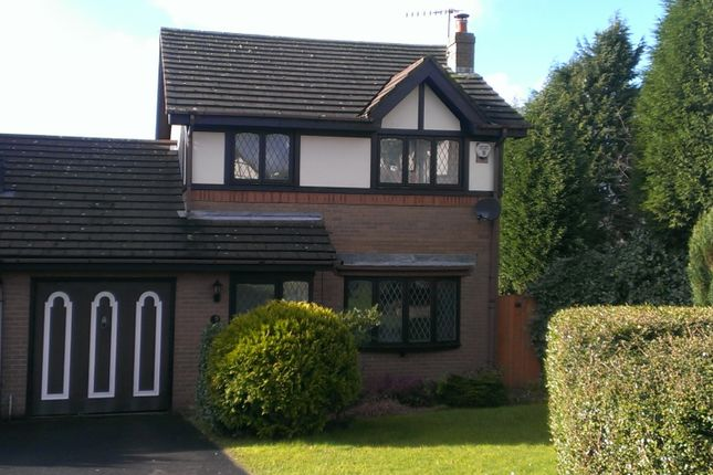 Thumbnail Detached house to rent in Parklands, Elmers Green, Skelmersdale