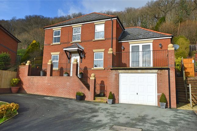 Thumbnail Detached house for sale in Hendidley Way, Milford Road, Newtown, Powys