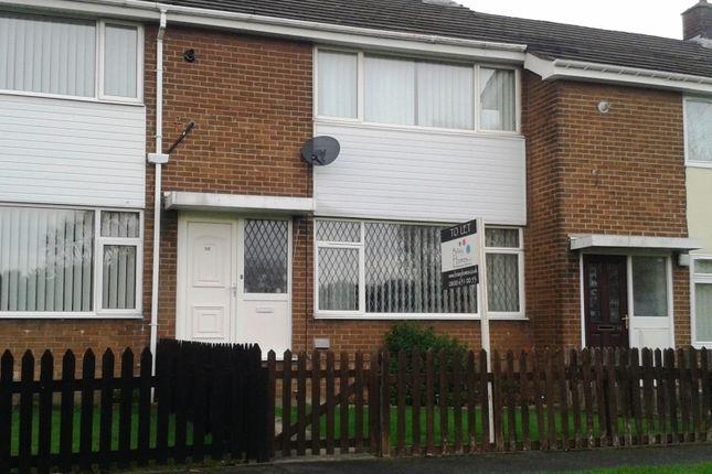 Thumbnail Terraced house to rent in Castledene Road, Consett