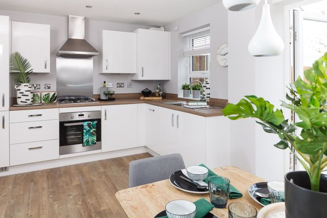 "Thumbnail Terraced house for sale in ""Finchley"" at Carters Lane, Kiln Farm, Milton Keynes"