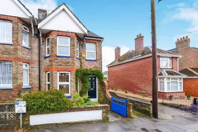 Thumbnail End terrace house for sale in Olga Road, Dorchester