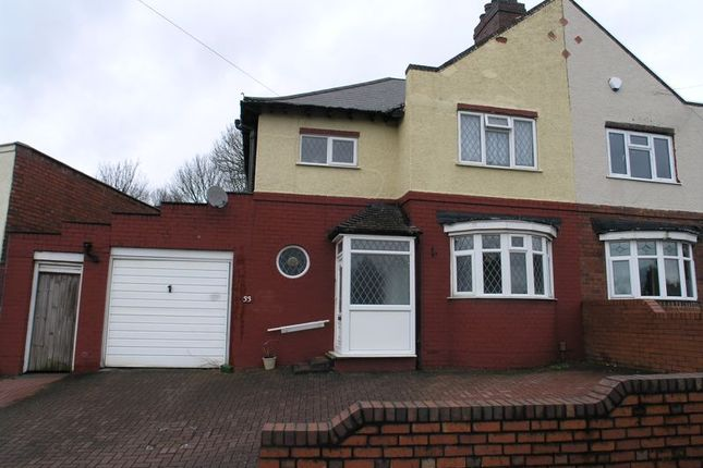 Thumbnail Semi-detached house for sale in Perry Park Road, Rowley Regis