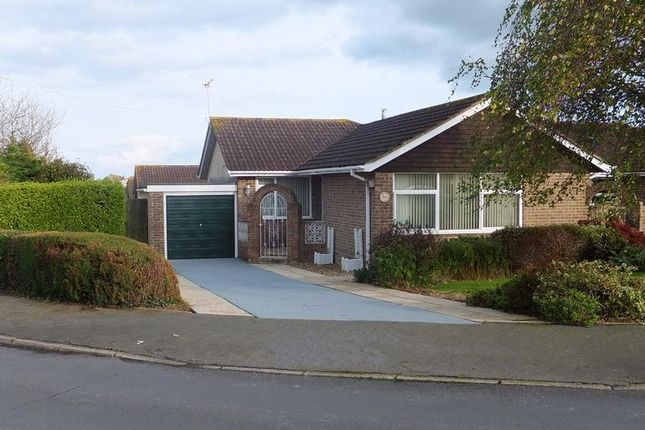 Thumbnail Detached bungalow for sale in Binstead Lodge Road, Binstead, Ryde