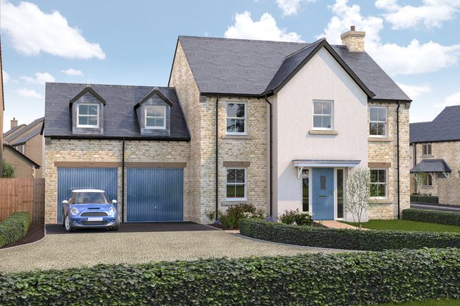 Thumbnail Detached house for sale in Cote Road, Aston, Bampton