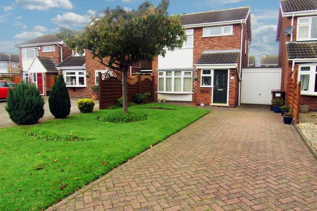 Thumbnail Detached house for sale in Long Furrow, East Goscote, Leicester