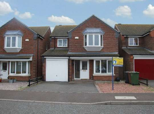 Thumbnail Detached house to rent in Westminster Gardens, Eye, Peterborough