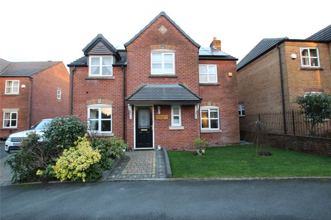 Thumbnail Detached house for sale in Butterworth Close, Milnrow, Rochdale, Greater Manchester