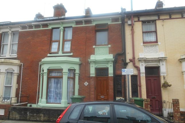 Thumbnail Terraced house to rent in Sandringham Road, Portsmouth