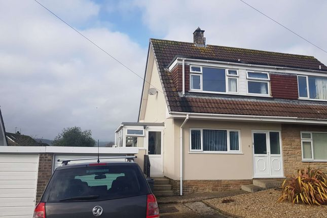 3 bed semi-detached house for sale in Fosseway Close, Axminster, Devon EX13