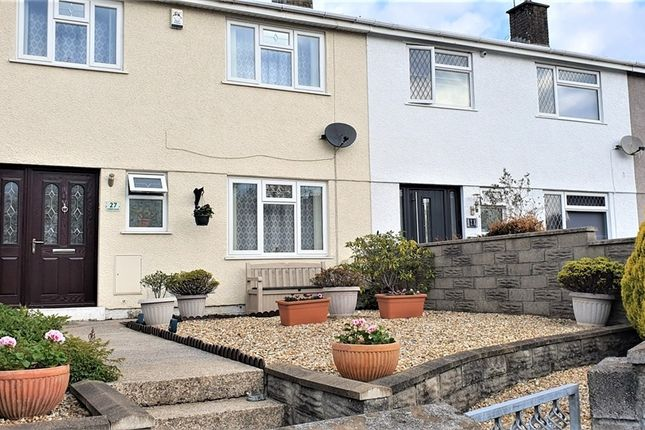 Thumbnail Terraced house for sale in Cribbwr Square, Kenfig Hill, Bridgend, Mid Glamorgan