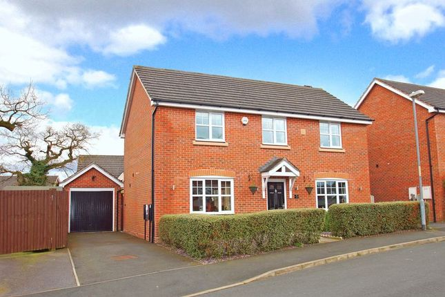 Thumbnail Detached house for sale in Wheatcroft Close, Brockhill, Redditch