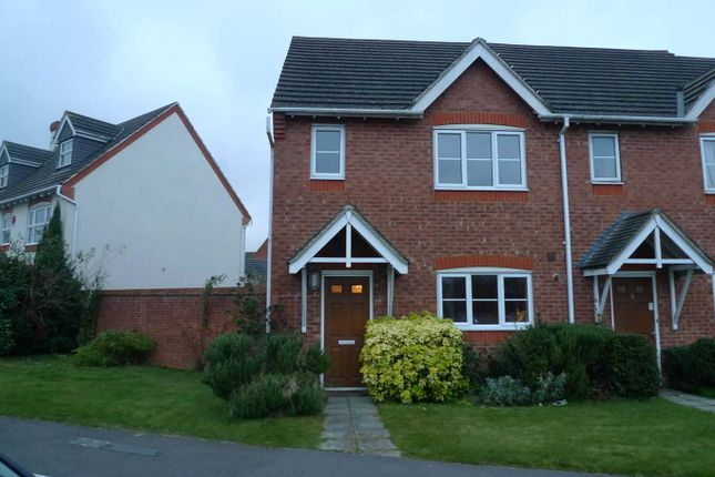 Thumbnail End terrace house to rent in Urquhart Road, Thatcham