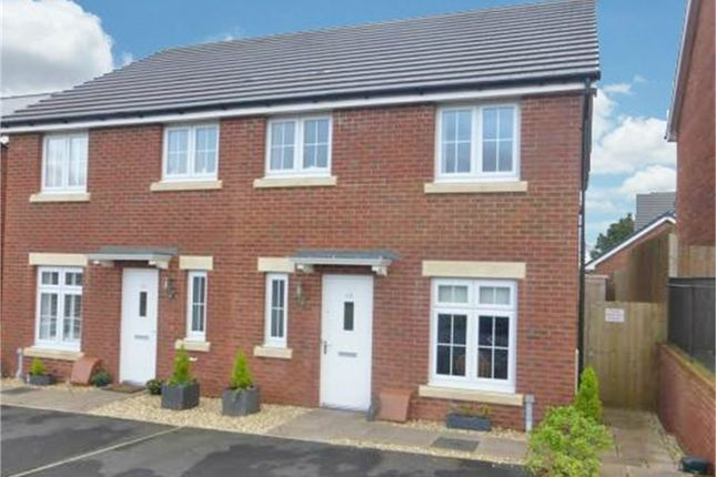 Thumbnail Semi-detached house for sale in Bryn Celyn, Llanharry, Pontyclun, Mid Glamorgan