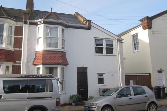 Thumbnail End terrace house to rent in Kimberley Road, St Leonards, Exeter