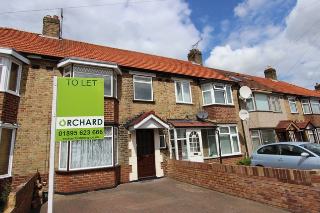 Thumbnail Terraced house to rent in Berkeley Road, Hillingdon