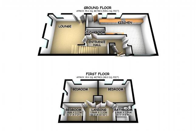Thumbnail Semi-detached house to rent in Minton Close, Blakelands, Milton Keynes