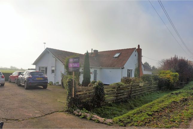 Thumbnail Detached bungalow for sale in South Row, Caldicot